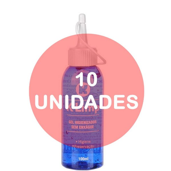 KIT10 - K-LIMP: HIGIENIZADOR DE CONSOLO VIBRADORES