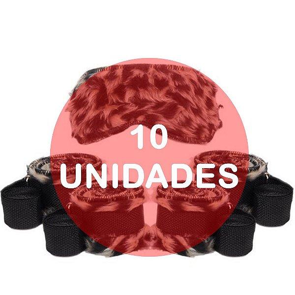 KIT10 - Kit bondage - cor onça