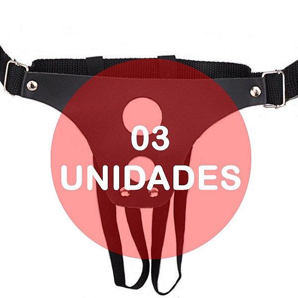 KIT03 - CINTA PARA PENIS COM 2 FUROS