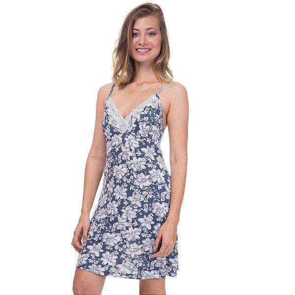 364d88a20 Camisola de Alcinha Floral Marinho - Inspirate