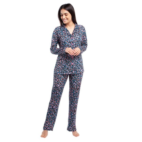 Pijama Feminino de Inverno Aberto Amalfi