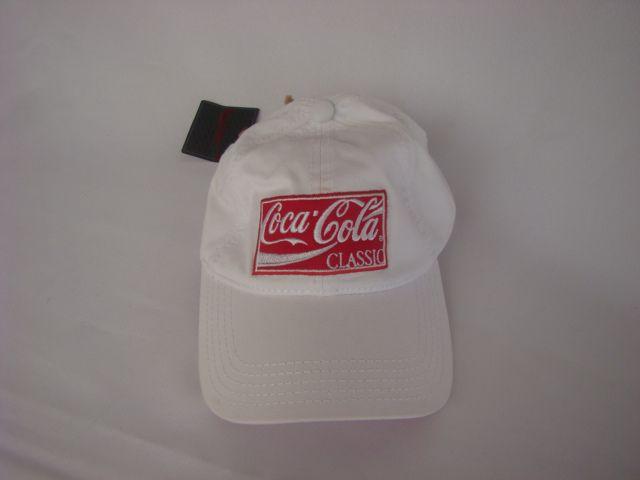 Boné Branco Coca-Cola - Novo!