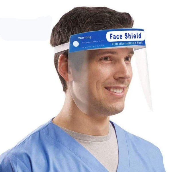 Protetor Facial Faceshield Combate ao Covid19