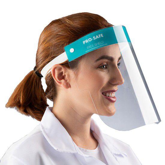 Protetor Facial para o Rosto Face Shield Pro-Safe Adulto