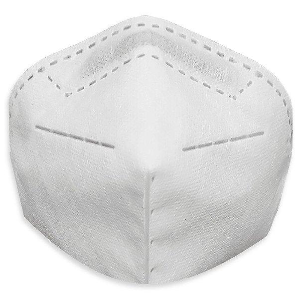 Máscara De Proteção Respirador Pff2 N95 Sem Válvula Elástico na Cabeça Mill
