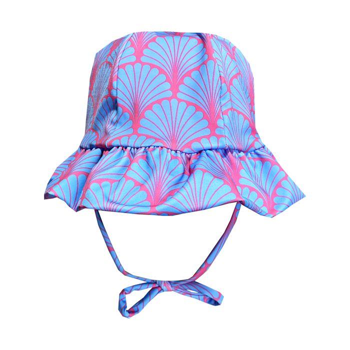 Chapéu de Praia Infantil Kids Búzios Azul