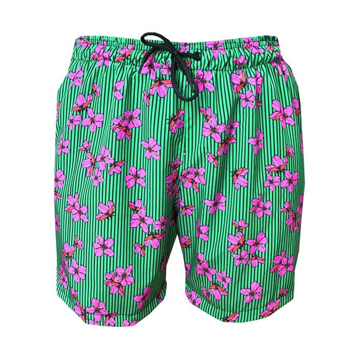 Shorts Bermuda Masculina de Praia Noronha Verde