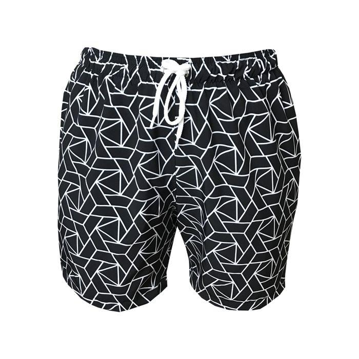 Shorts Bermuda Masculina de Praia Ipanema Preto