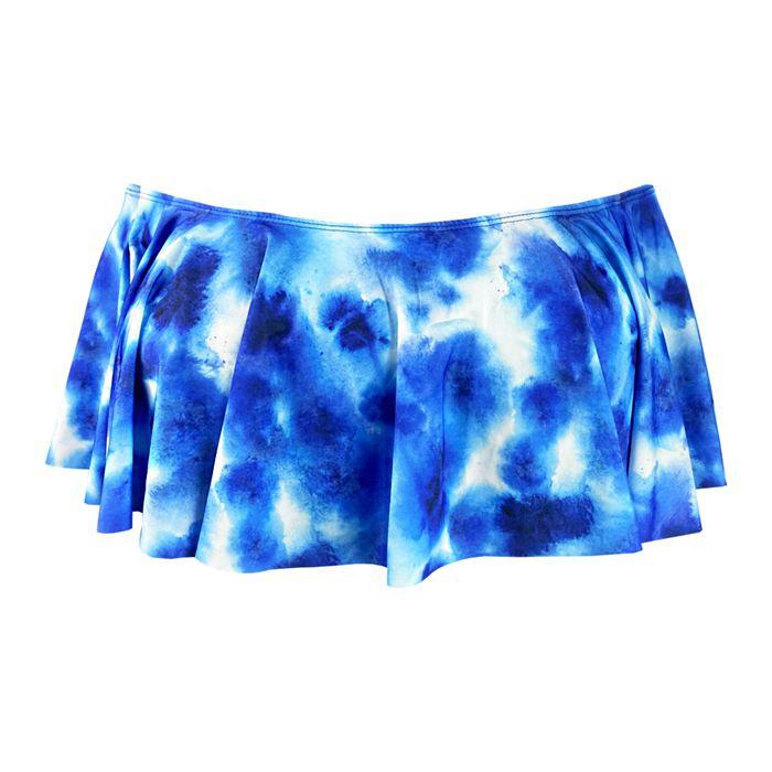 Ciganinha de Biquíni Tie Dye Maldivas Azul