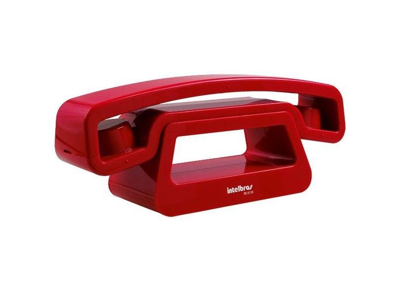 Telefone Sem Fio TS 8520 Vermelho Intelbras