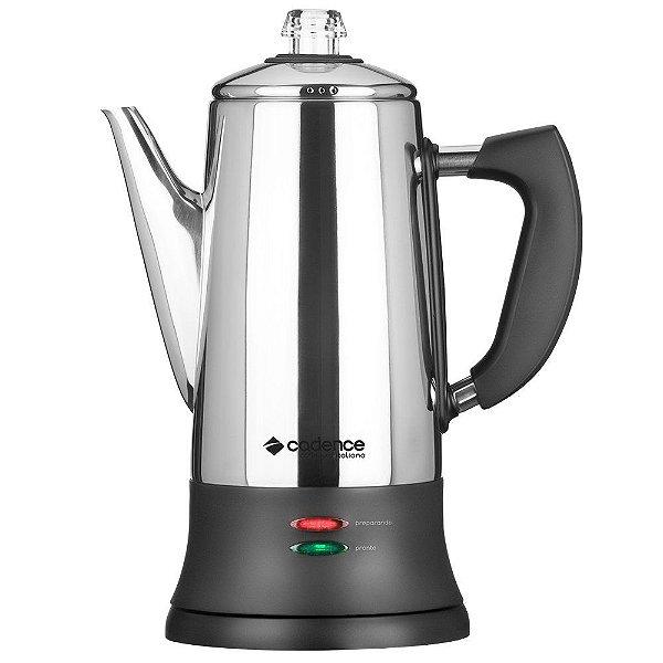 Cafeteira Elétrica Italiana Inox 1,7L CAF103 Cadence 220V