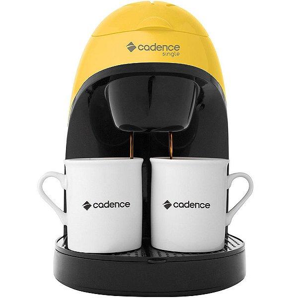 Cafeteira Elétrica Single Colors Amarela CAF114 Cadence 220V