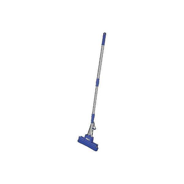 Mop PVA Plus Reforçado 27 cm com 4 Roletes Azul Kala