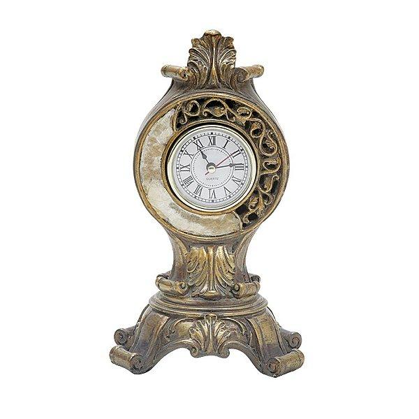Relógio Decorativo de Resina - 25 cm