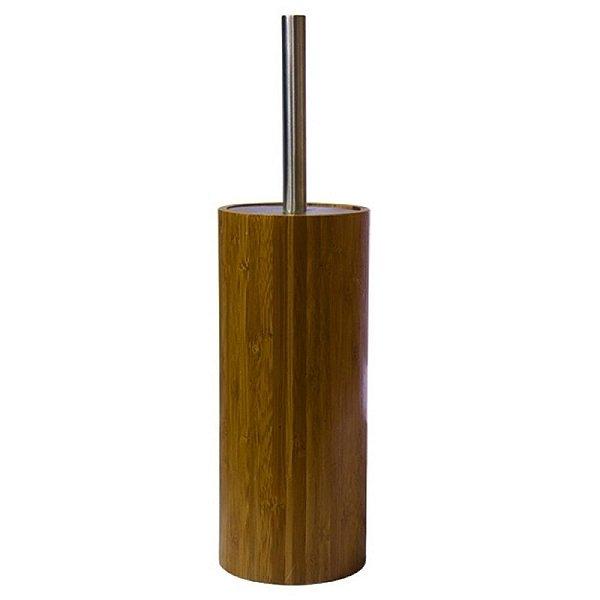 Escova Sanitária com Suporte de Bambu - 24 cm