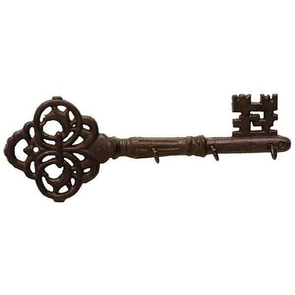 Porta Chaves de Metal - 3 Ganchos BTC