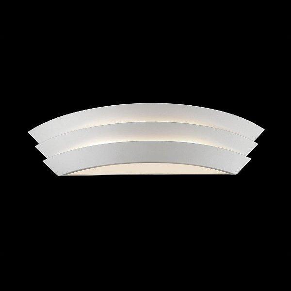 Arandela Boat 2 x E14 Branca Bella Iluminação - 60 cm