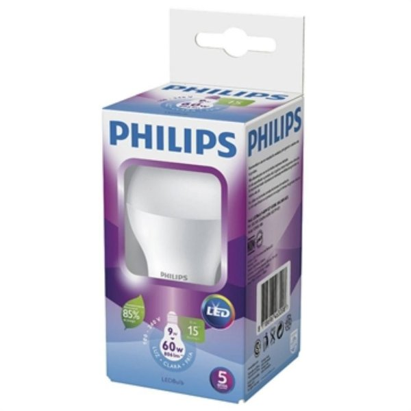 Lâmpada Led Bulbo 9W E27 Branca 6500K 15000H - Philips