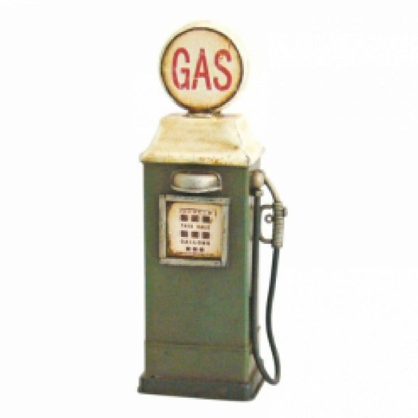 Bomba de Gasolina de Metal - 16 cm Objeto Decorativo