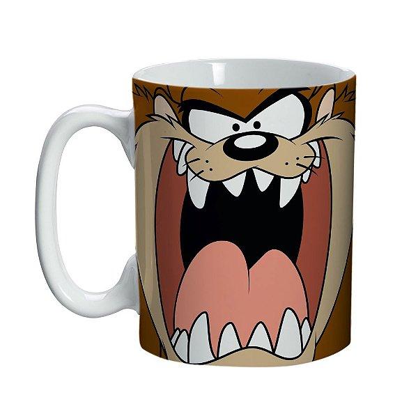 Caneca de Porcelana Looney Tunes Taz - 135 ml