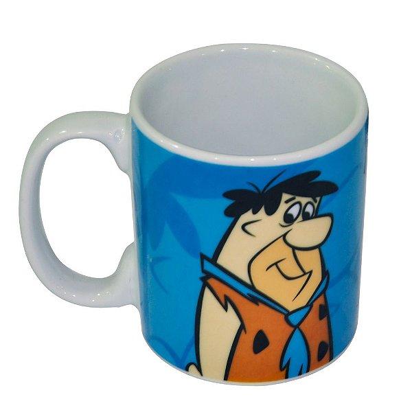Caneca de Porcelana Hanna Barbera Os Flintstones Fred - 300 ml