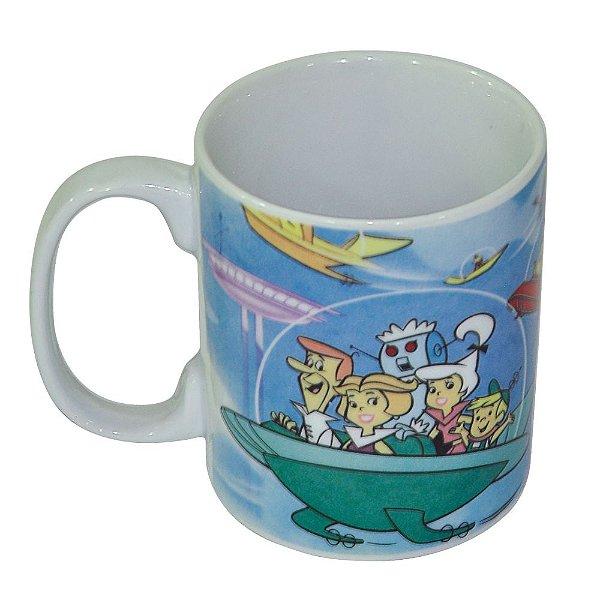 Caneca de Porcelana Hanna Barbera Os Jetsons Passeio em Família - 300 ml