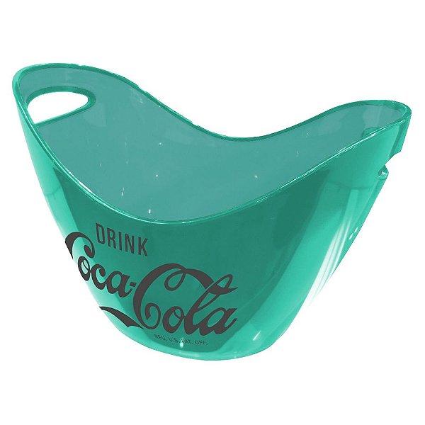 Champanheira de Acrílico Coca-Cola Contemporary Green