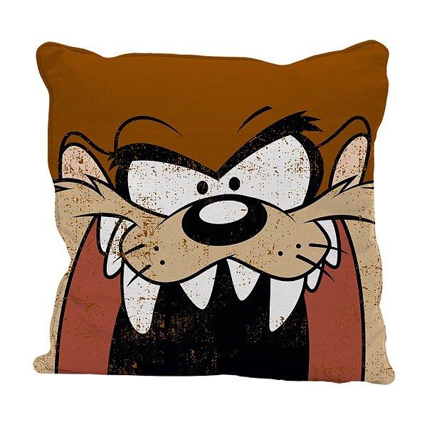 Capa para Almofada em Poliéster Looney Tunes Taz - 45 cm