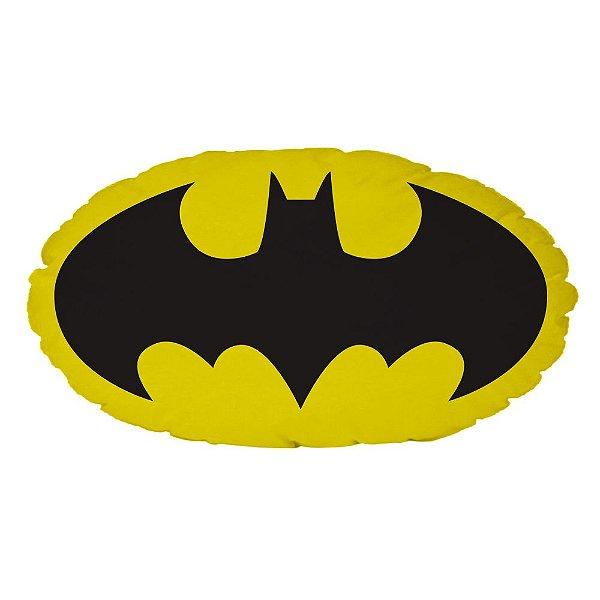 Almofada Decorativa em Poliéster DC Comics Batman Logo - 28 x 50 cm