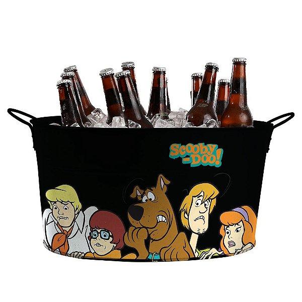 Balde de Gelo Oval com Alças Laterais Hanna Barbera Scooby-Doo e sua Turma - 39 cm