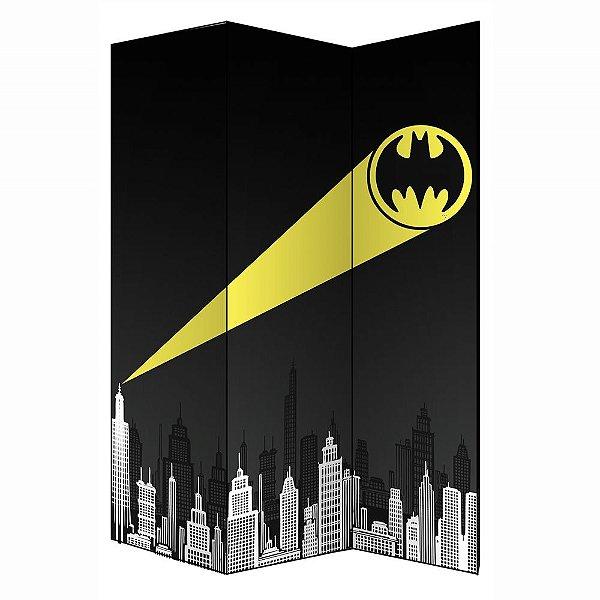 Biombo Decorativo de 3 Folhas DC Comics Batman Call - 180 cm