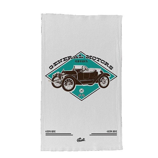 Pano de Prato de Algodão GM Vintage Jalopy Car - 70 x 45 cm