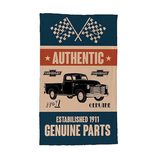 Pano de Prato de Algodão GM Vintage Authentic Genuine Parts - 70 x 45 cm