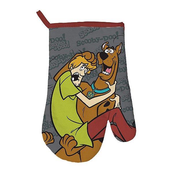 Luva para Cozinha de Algodão Hanna Barbera Scooby-Doo e Salsicha - 29 cm