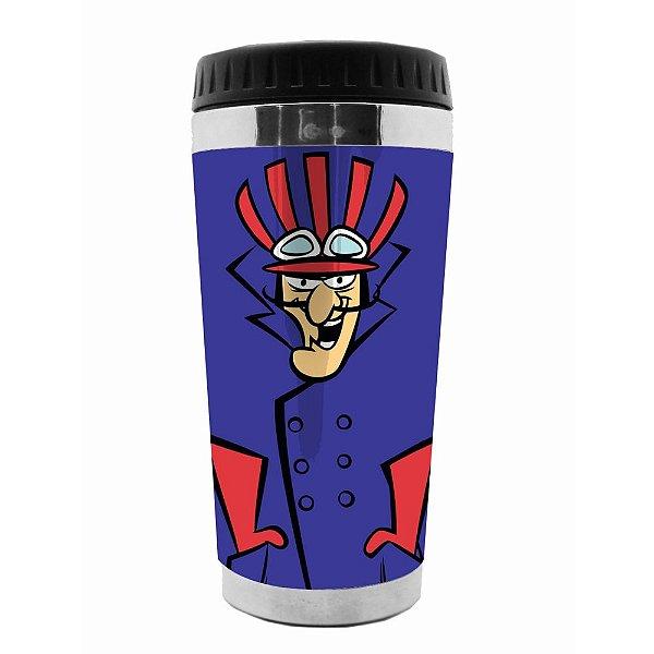 Copo Térmico de Plástico Hanna Barbera Corrida Maluca Dick Vigarista - 470 ml