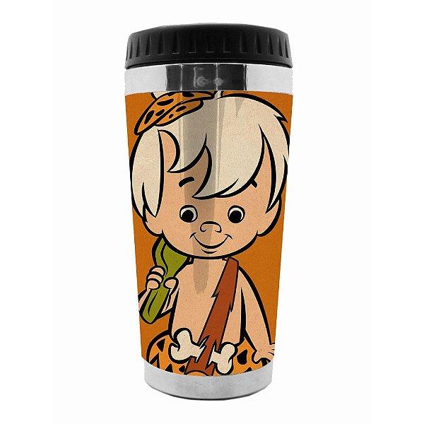 Copo Térmico de Plástico Hanna Barbera Os Flintstones Bambam - 470 ml