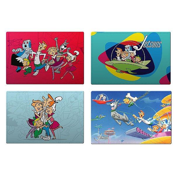 Jogo Americano de Plástico Hanna Barbera Os Jetsons - 4 Peças