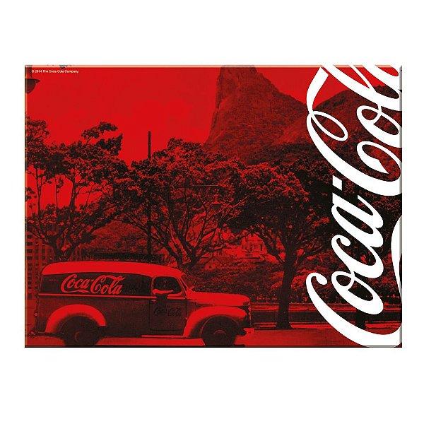 Tábua de Cozinha de Vidro Coca-Cola Rio de Janeiro - 30 x 40 cm