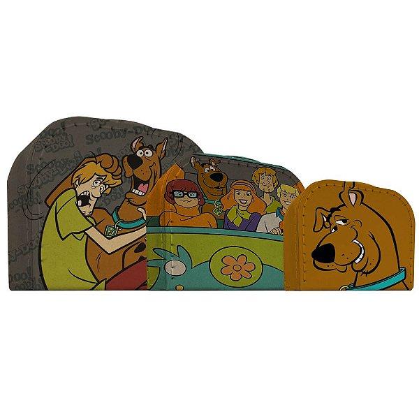 Conjunto de Maletas de Papelão Hanna Barbera Scooby-Doo e sua Turma - 3 Peças