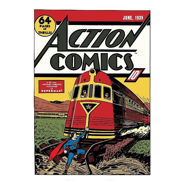Quadro / Tela Retangular DC Comics Superman Action Comics - 70 x 50 cm