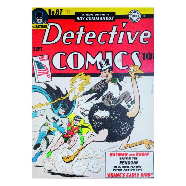 Quadro / Tela Retangular DC Comics Batman Detective Comics - 70 x 50 cm
