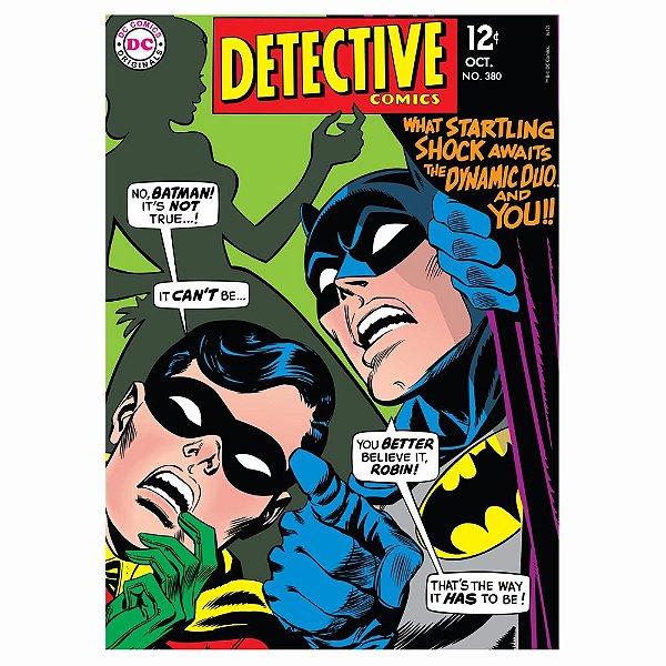 Quadro / Tela Retangular DC Comics Batman and Robin Detective Comics I - 70 x 50 cm