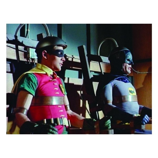 Quadro / Tela Retangular DC Comics Batman and Robin Movie Machine - 50 x 70 cm