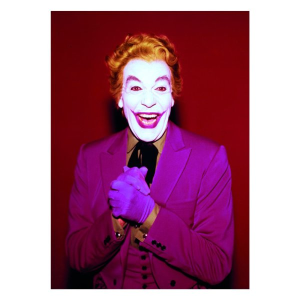 Quadro / Tela Retangular DC Comics Joker Laughing Character Movie - 50 x 70 cm