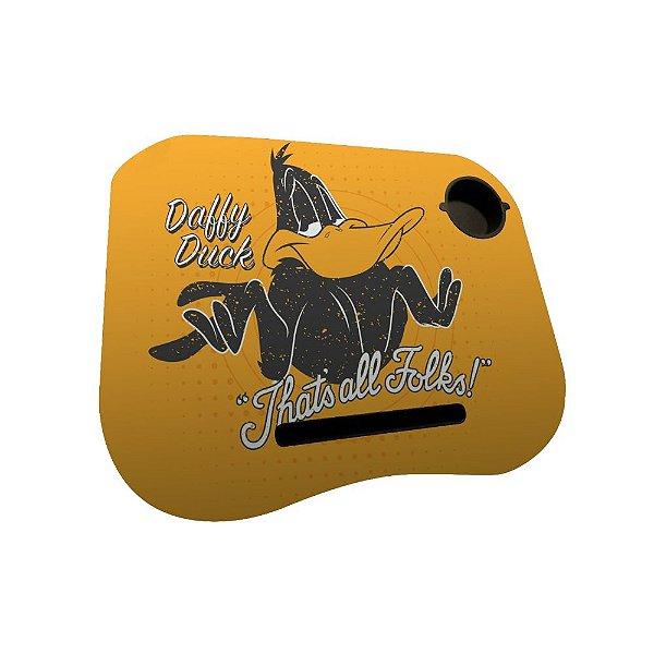 Mesa / Suporte para Notebook com Porta Copo Looney Tunes Patolino That's All Folks! - 38 x 48 cm