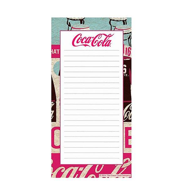 Lista de Compras Magnético Coca-Cola Bottles - 20 x 10 cm