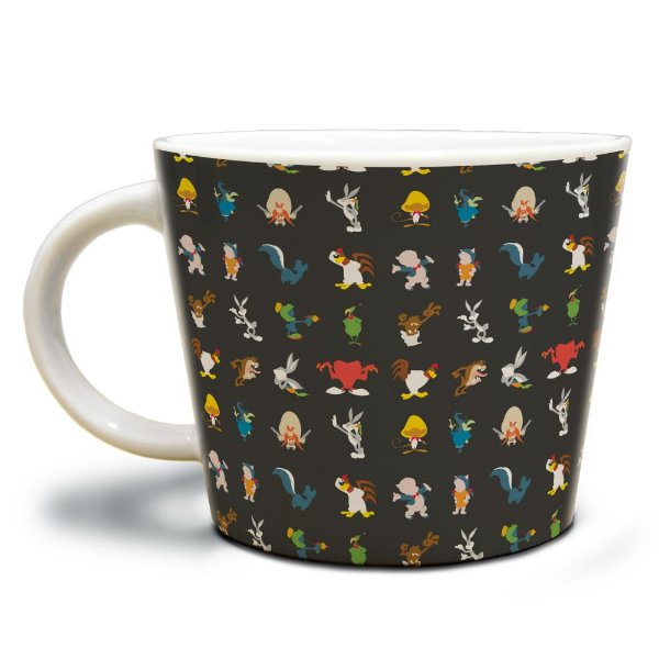 Caneca Jumbo de Porcelana Looney Tunes All Characters - 320 ml