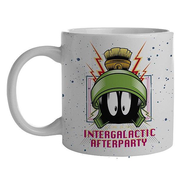 Caneca de Porcelana Looney Tunes Intergalactic Afterparty - 300 ml