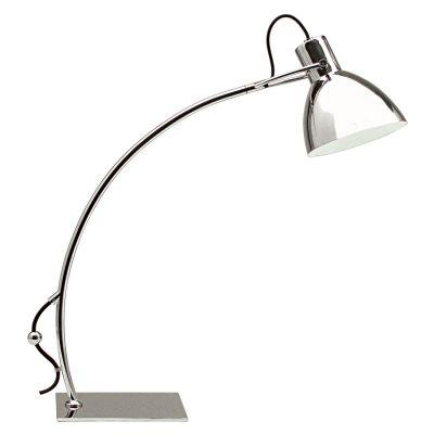 Luminária de Mesa Clap 1 x E27 Cromado Bella Iluminação - 50 cm