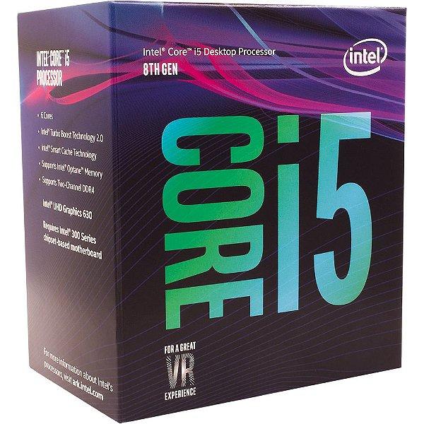 Processador Intel® Core™ i5-8400 Coffee Lake 2.8GHz BX80684I58400
